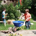 Freispiel im Garten